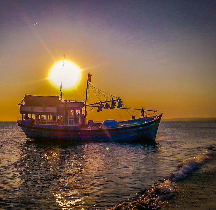 Mui Ne Beach Vietnam Sunset
