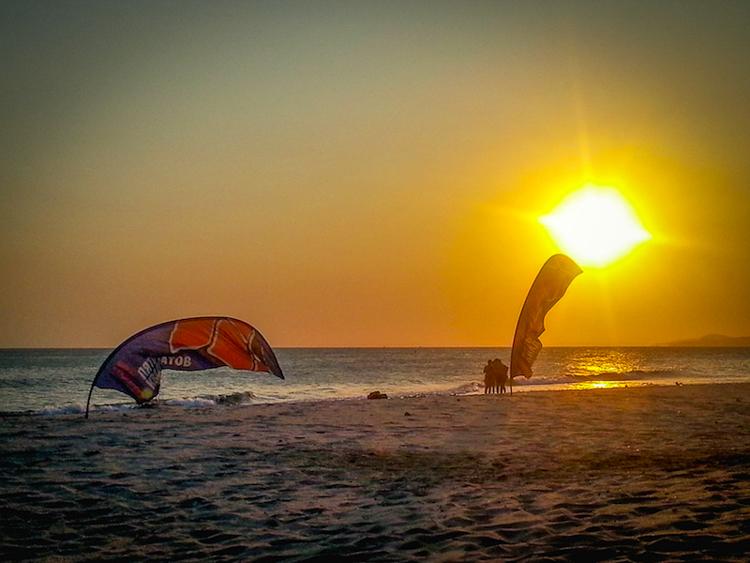 Mui Ne Windy Beach Sunset
