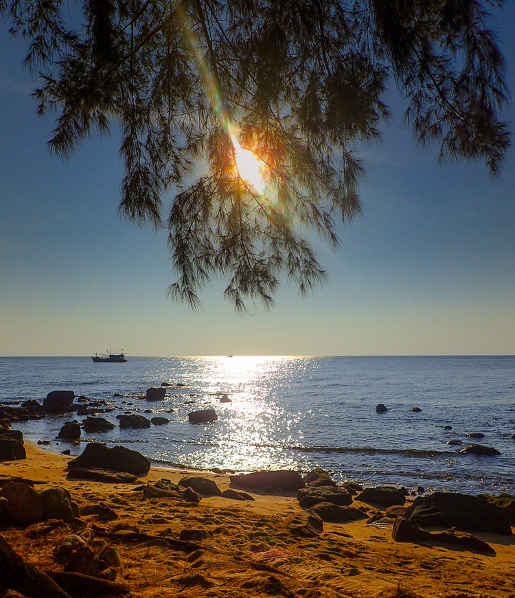 Ong Lang Beach Sunset in Phu Quoc