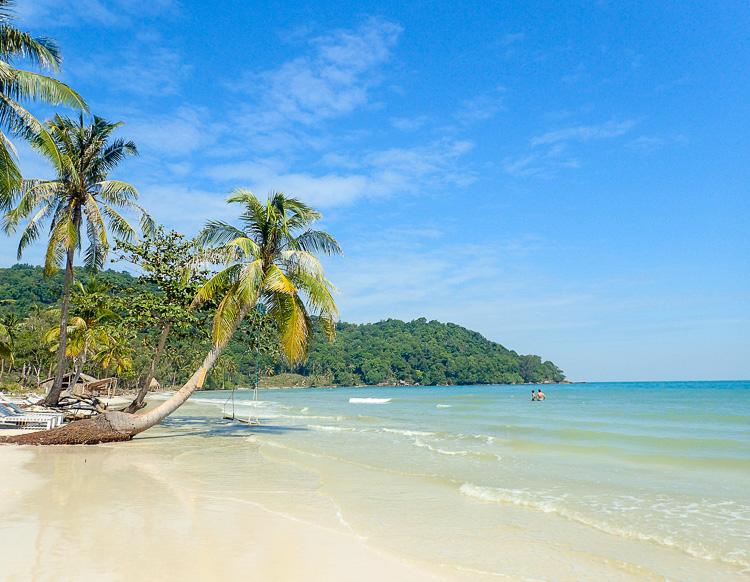 Swing at Sao Beach Phu Quoc Vietnam