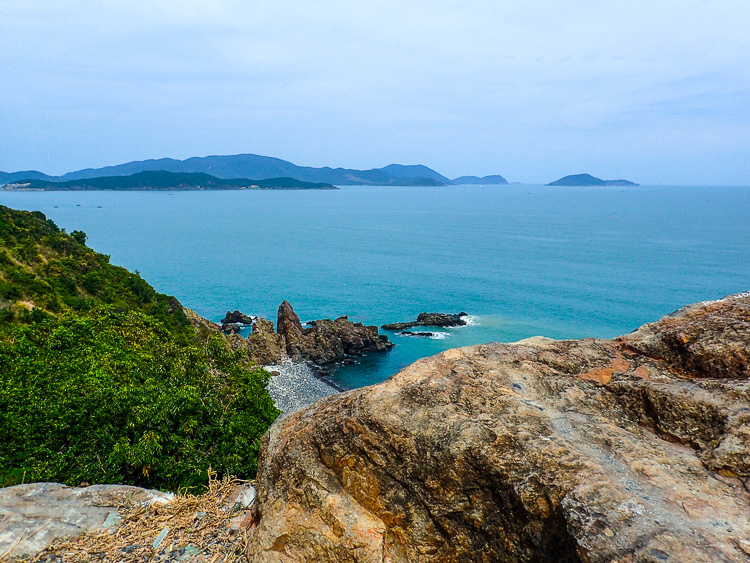 Stunning views Cam Ranh Bay, which has some of the best beaches in Vietnam