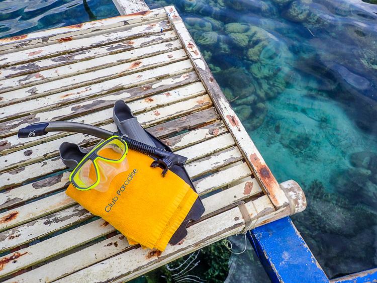 Snorkeling Club Paradise Palawan
