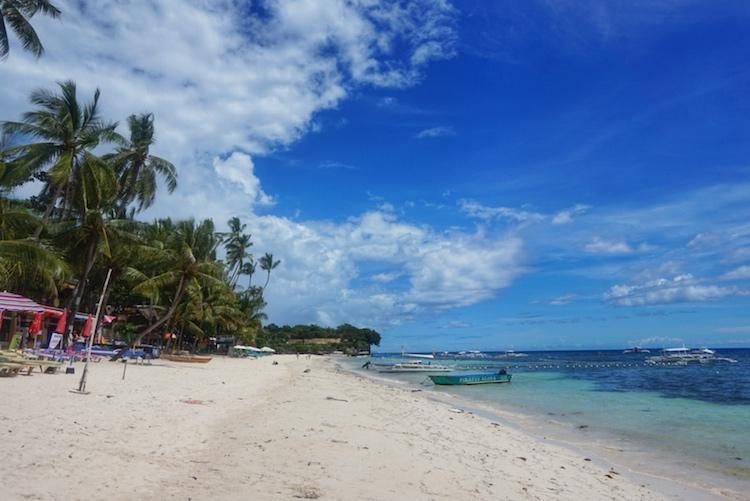Alona Beach Bohol Philippines