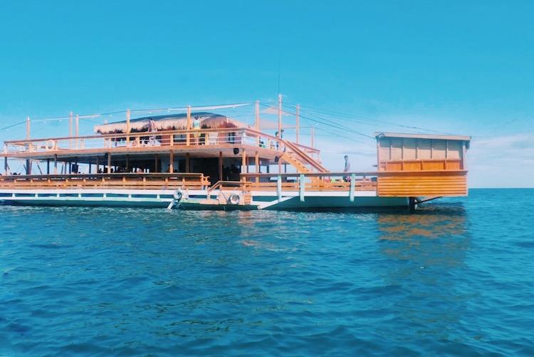 Floating Bar at Lakawon Island