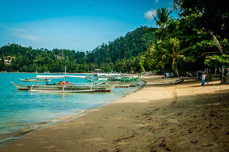 Port Barton Beach Palawan