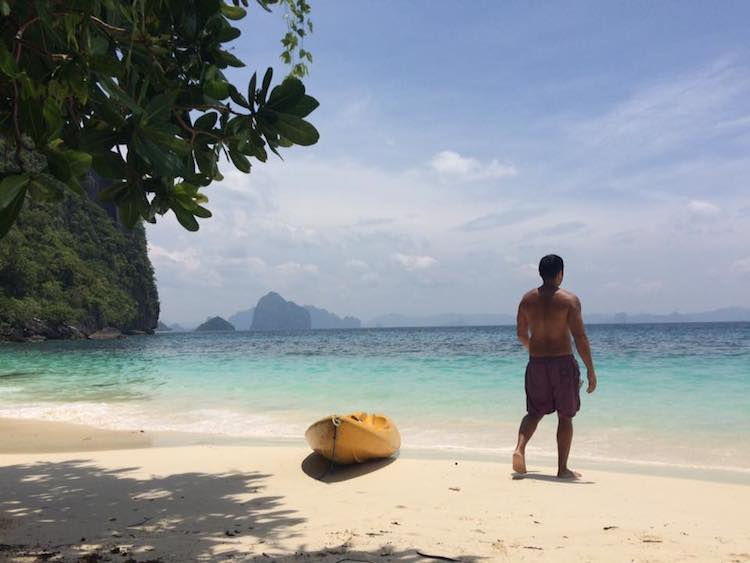 Papaya Beach Palawan Philippines