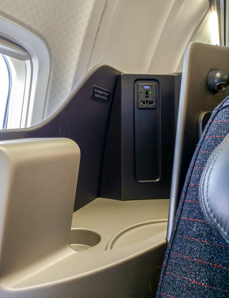 AA 757 new business class