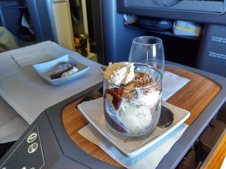 American airlines sundae