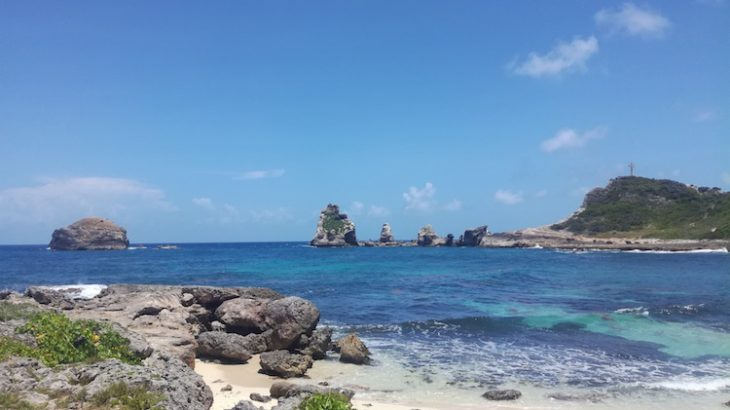 pointe des chateaux guadeloupe gwada